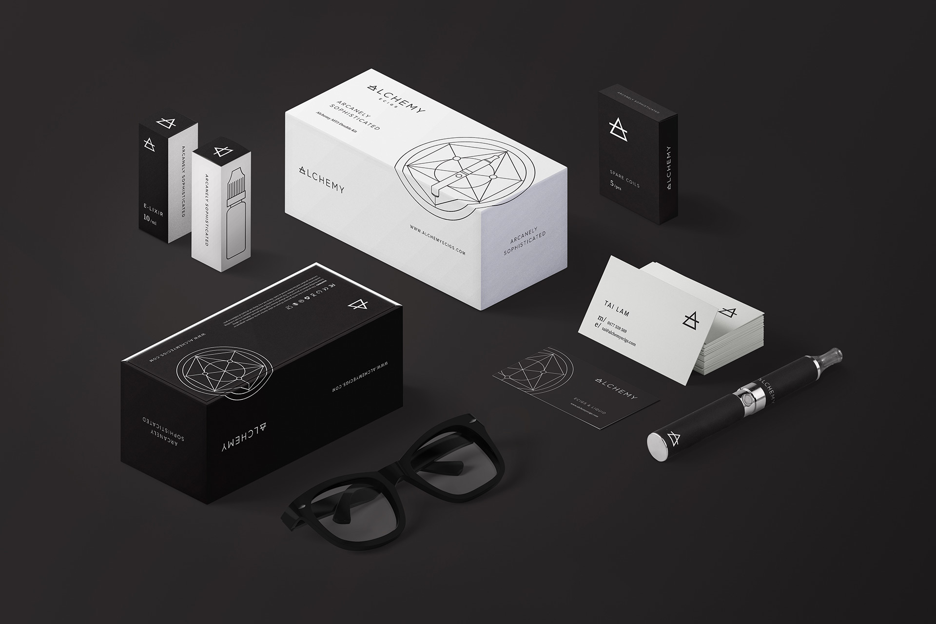Alchemy-Ecigs-Identity-Design