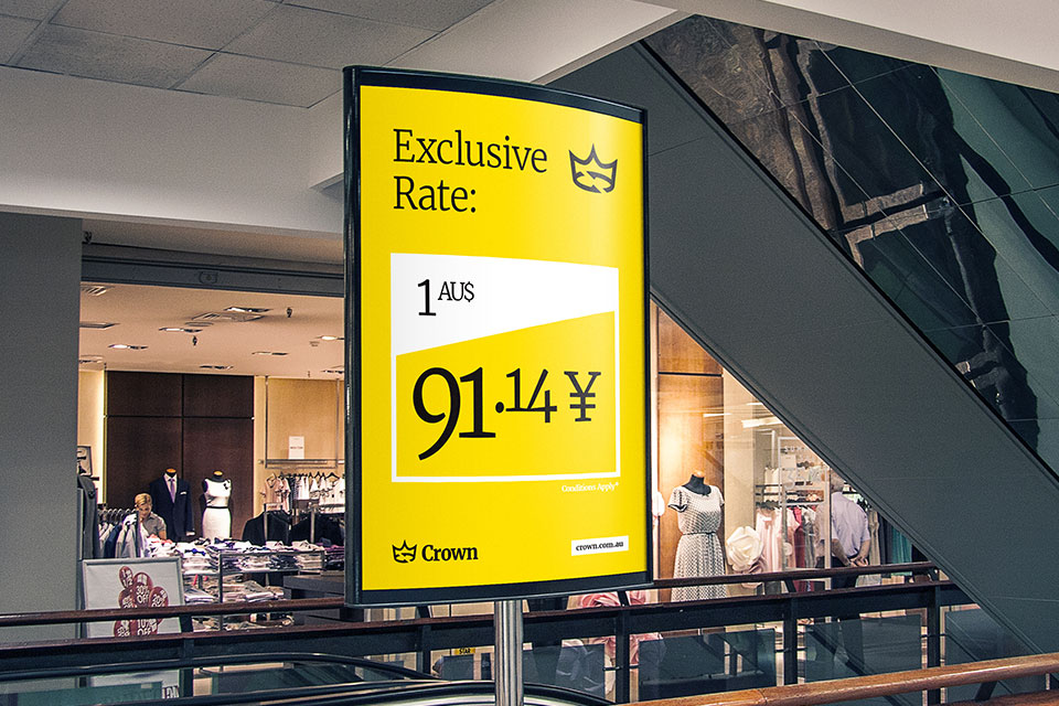 Crown-Currency-Signage-Context