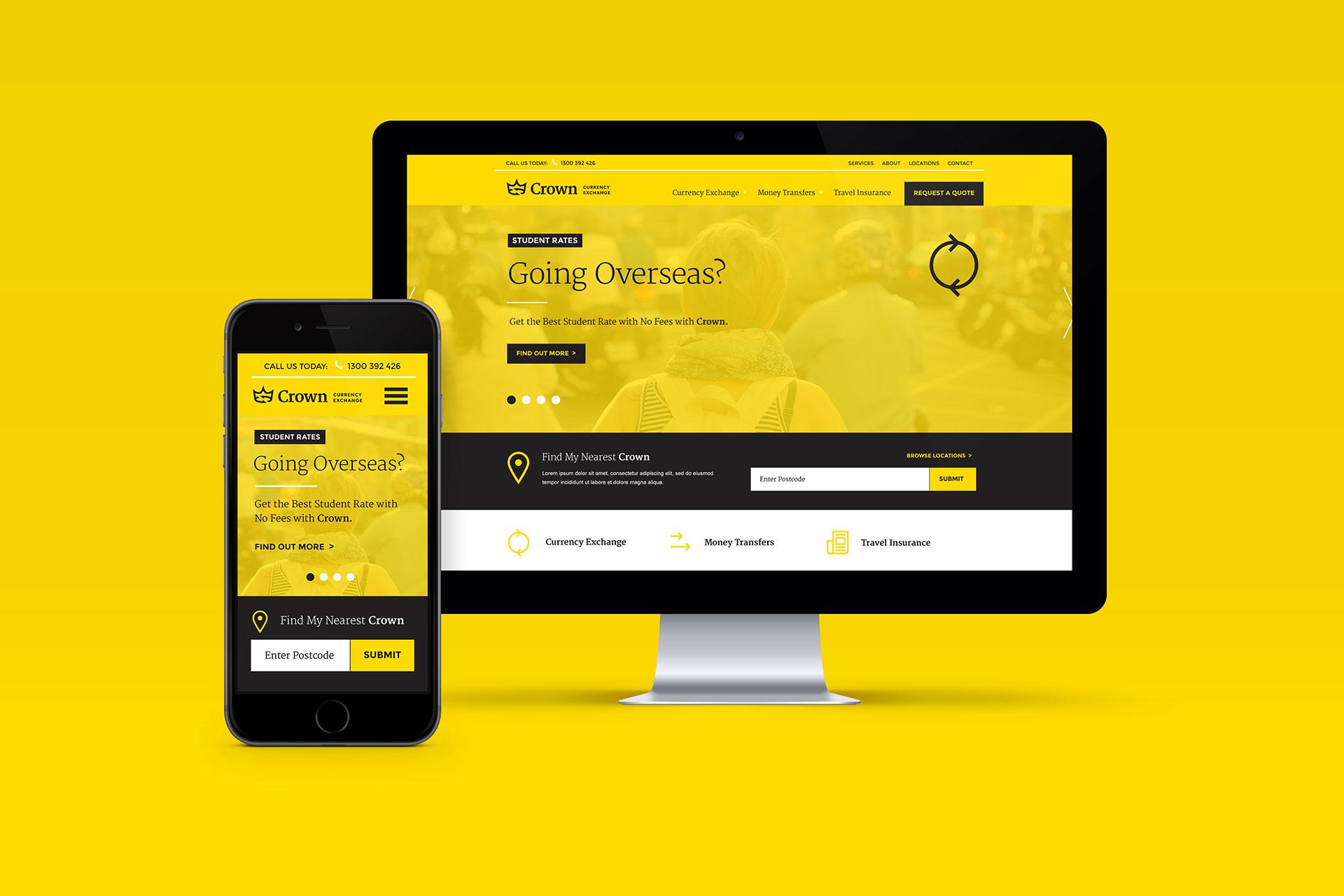 Crown-Currency-Website-Design