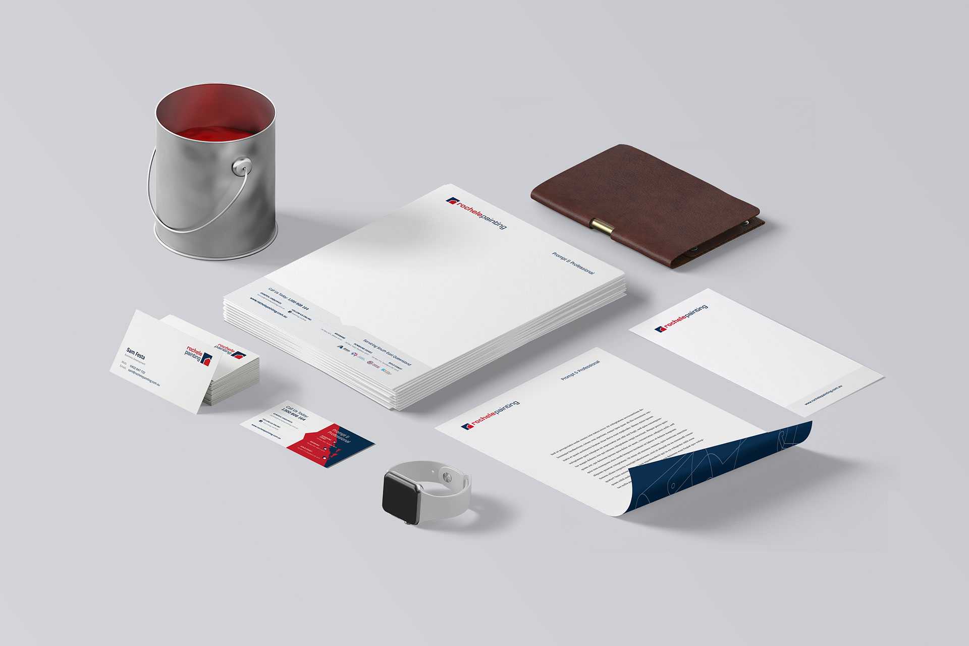 Rochele-Painting-Stationary-Design