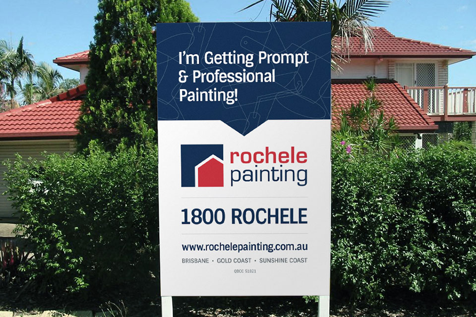 Rochele-Painting-Work-Site-Signage